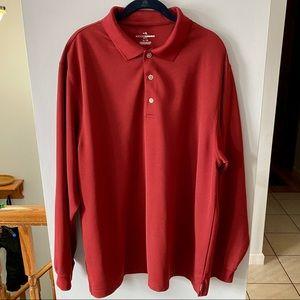 Grand Slam Men's Golf Long Sleeve Wicking Shirt XL